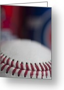 Baseball Parks Photo Greeting Cards - Beer and Baseball Greeting Card by Alan Look