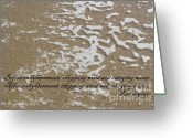 Zen Quotes Greeting Cards - Before enlightenment.... Greeting Card by Mia Alexander
