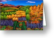 High Country Greeting Cards - Before the Snowfall Greeting Card by Johnathan Harris