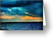 Sky Greeting Cards - Before The Storm Greeting Card by Katie Williams