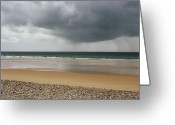 Storm Cloud Greeting Cards - Before The Storm Greeting Card by Photography by Reza Bassiri