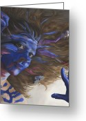 Featured Painting Greeting Cards - Being Art Greeting Card by Katherine Howard