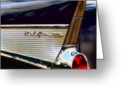 Road Trip Greeting Cards - Bel Air Greeting Card by Scott Norris