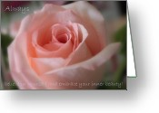 Confidence Greeting Cards - Believe in Yourself Card or Poster Greeting Card by Carol Groenen