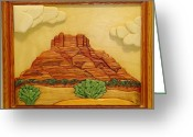 Music Sculpture Greeting Cards - Bell Rock-2 Greeting Card by Russell Ellingsworth
