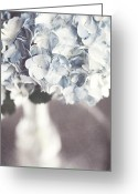 Vase Of Flowers Greeting Cards - Bella Donna Greeting Card by Lisa Russo