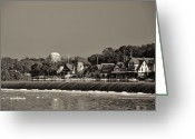 Boathouse Row Philadelphia Greeting Cards - Below the Dam at Boathouse Row Greeting Card by Bill Cannon