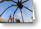 Arquitectura Greeting Cards - Below the spider Greeting Card by Fernando Alvarez