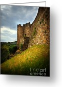 Ancient Architecture Greeting Cards - Belver Castle Greeting Card by Carlos Caetano