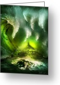 Seaview Greeting Cards - Beneath Greeting Card by Svetlana Sewell