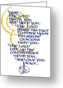 Tamara Stoneburner Greeting Cards - Benediction Greeting Card by Tamara Stoneburner