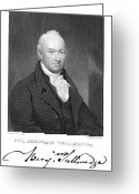 Autograph Greeting Cards - Benjamin Tallmadge Greeting Card by Granger