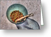 Lincoln Field Greeting Cards - Berry Bowl Greeting Card by Karen M Scovill