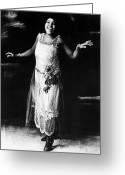 Singer Songwriter Greeting Cards - Bessie Smith Greeting Card by Granger