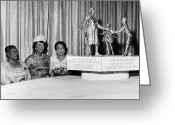 Civil Rights Greeting Cards - BETHUNE MEMORIAL, c1973 Greeting Card by Granger