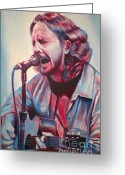 Pearl Jam Greeting Cards - Betterman Greeting Card by Derek Donnelly