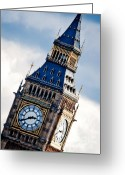 Big Ben Greeting Cards - Big Ben Greeting Card by Andy Smy