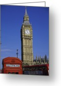 Public Transportation Greeting Cards - Big Ben  London  England Greeting Card by Purestock