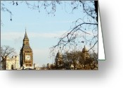 Big Ben Greeting Cards - Big Ben Greeting Card by Photography by Simon Bond