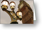 Big Ben Greeting Cards - Big Ben Greeting Card by Sylvia Rueda Photography