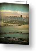San Francisco Greeting Cards - Big City Dreams Greeting Card by Laurie Search
