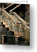 Stair Walk Greeting Cards - Big Ditch Greeting Card by Vicki Pelham