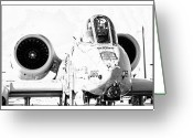 Jet Greeting Cards - Big Guns I Greeting Card by Ricky Barnard