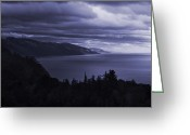 Matthew Trimble Greeting Cards - Big Sur Storm Greeting Card by Matt  Trimble
