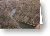 Canyon Walls Greeting Cards - Bighorn Canyon Greeting Card by Idaho Scenic Images Linda Lantzy