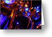 Desert Rats Greeting Cards - Bike Glow 2 Greeting Card by Carolina Liechtenstein