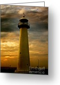 Canon 7d Greeting Cards - Biloxi Lighthouse Greeting Card by Scott Pellegrin