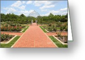 Birmingham Greeting Cards - Birmingham Rose Garden Greeting Card by Carol Groenen