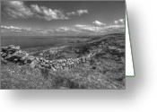 Kinvarra Greeting Cards - Black Head scenic view Greeting Card by John Quinn