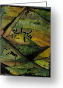 Representative Abstract Greeting Cards - Black Hills Greeting Card by David Raderstorf