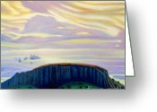 Native American Greeting Cards - Black Mesa Greeting Card by Brian  Commerford