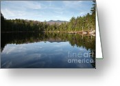 Grafton County Greeting Cards - Black Pond - Lincoln Woods New Hampshire USA Greeting Card by Erin Paul Donovan