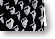 Dances Greeting Cards - Black Tie Affair Greeting Card by Steven Milner