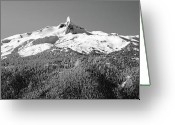 Mountain Summit Greeting Cards - Black Tusk Greeting Card by Pierre Leclerc