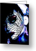 Black Widow Greeting Cards - Black Widow Greeting Card by Russell Clenney