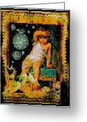 Tomboy Greeting Cards - Blame It On The Dog Greeting Card by Janiece Senn