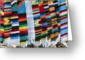 Restless Light Photography Greeting Cards - Blanket Weave Greeting Card by Lynn Palmer