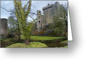 Stone Greeting Cards - Blarney Castle 3 Greeting Card by Mike McGlothlen