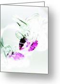 Digitally Enhanced Greeting Cards - Bling Greeting Card by Molly McPherson