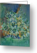 Fine Home Art And Theater Greeting Cards - Blue Jasmine  Greeting Card by Don  Wright