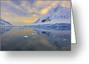 Austral Greeting Cards - Blue Passage  Greeting Card by Tony Beck