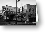 Tenn Greeting Cards - Blues City Cafe On Beale Street In Downtown Memphis Tennessee Usa Greeting Card by Joe Fox