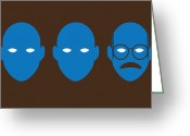 Man Digital Art Greeting Cards - Bluth Man Group Greeting Card by Michael Myers