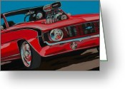 Camaro Greeting Cards - Blwn6t9 Greeting Card by Sandy Tracey