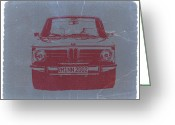 Bmw Classic Car Greeting Cards - Bmw 2002 Greeting Card by Irina  March