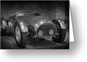 Bmw Classic Car Greeting Cards - BMW 328 Allard Greeting Card by Ralf Kaiser